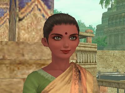 インドの街娘