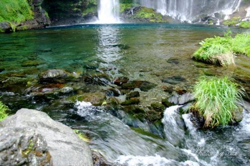 白糸の滝壺