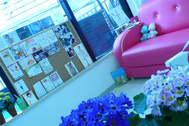 教室待合室風景
