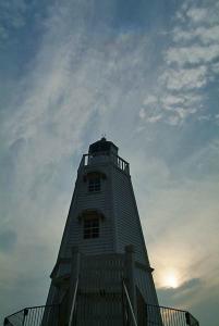 旧堺燈台上空の天頂環