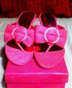 ミュール ピンク1