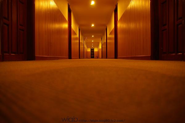 ベトナムのホテルにて
