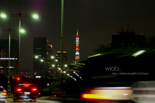 東京駅付近。 いい感じに観えたなぁ~♪