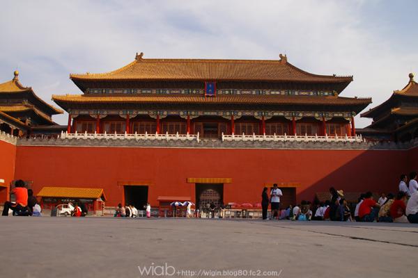「 紫禁城 」 は、1406年に明の永楽帝の命により造営が開始される。