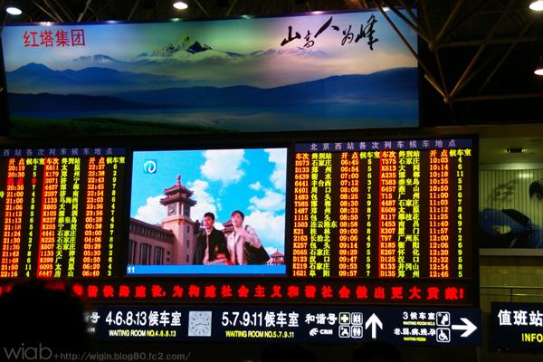 北京駅の汚さにはちょっと引いてしまった (^^;)