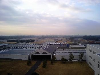 研修所の眺め