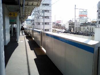 あおなみ線ホーム