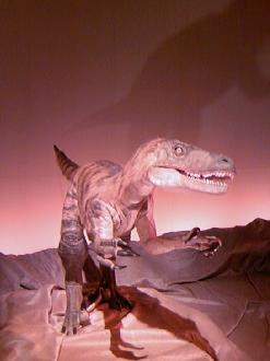 ロボットの恐竜