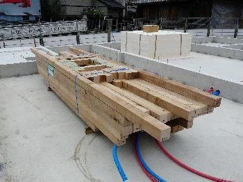 木の土台用建材