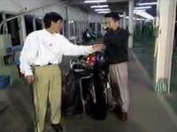 浜田 さんまにゴルフを教えてもらう