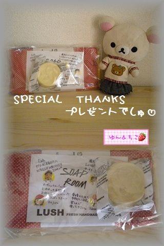 ちこちゃん日記★101★SPECIAL THANKS プレゼント-4