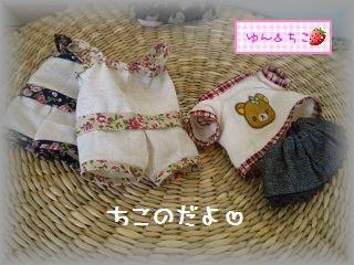 ちこちゃん日記★102★新しいお洋服&おそろい-3