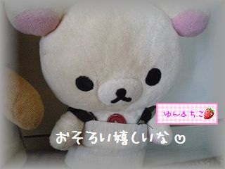 ちこちゃん日記★102★新しいお洋服&おそろい-5