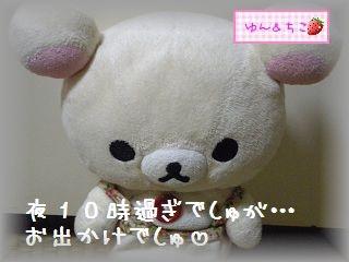 ちこちゃん日記★105★夜のおでかけ♪-1