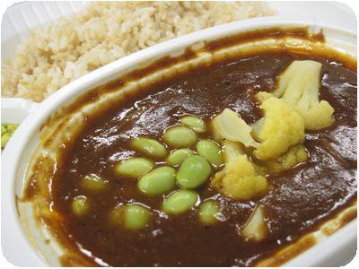 塩原さんちのカリフラワーと枝豆のベジタブルカレー