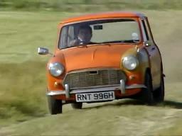 Mr.Beanの'69年製Morris Mini MK II