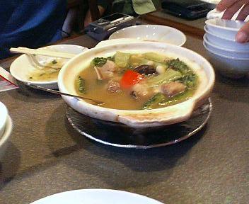 にがうりのスープ大珍風