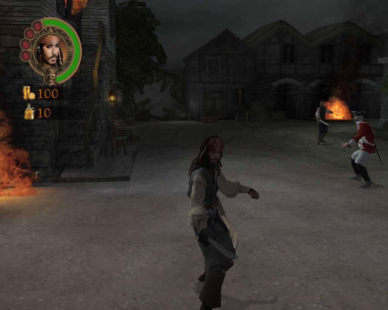 ゲーム版pirates Of The Caribbean ジョニー デップが声で出演