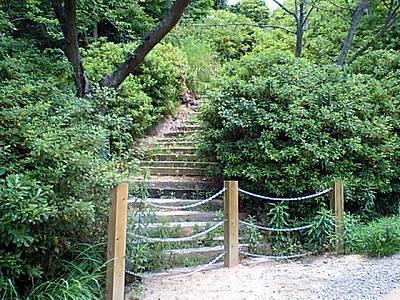 閉ざされた階段