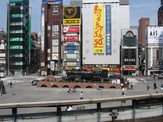 C11・・ここなのかな・・・新橋駅