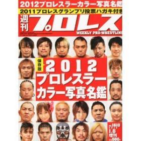 2012プロレスラーカラー写真名鑑 表紙