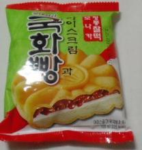 韓国アイス菊華パンパッケージ