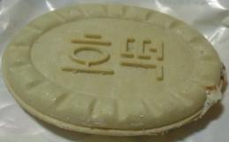韓国アイス蜜ホトック中